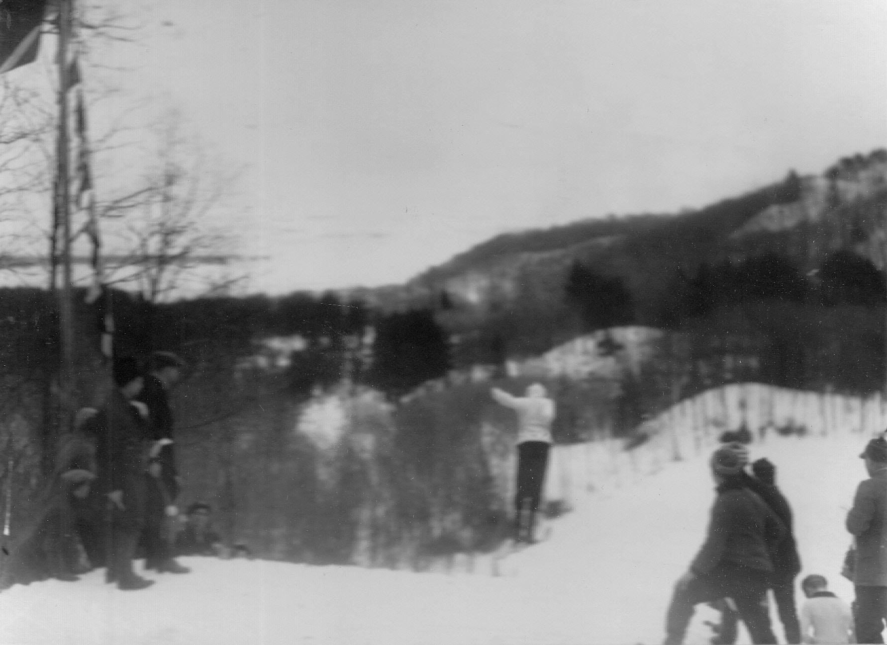 12. Соревнование лыжников