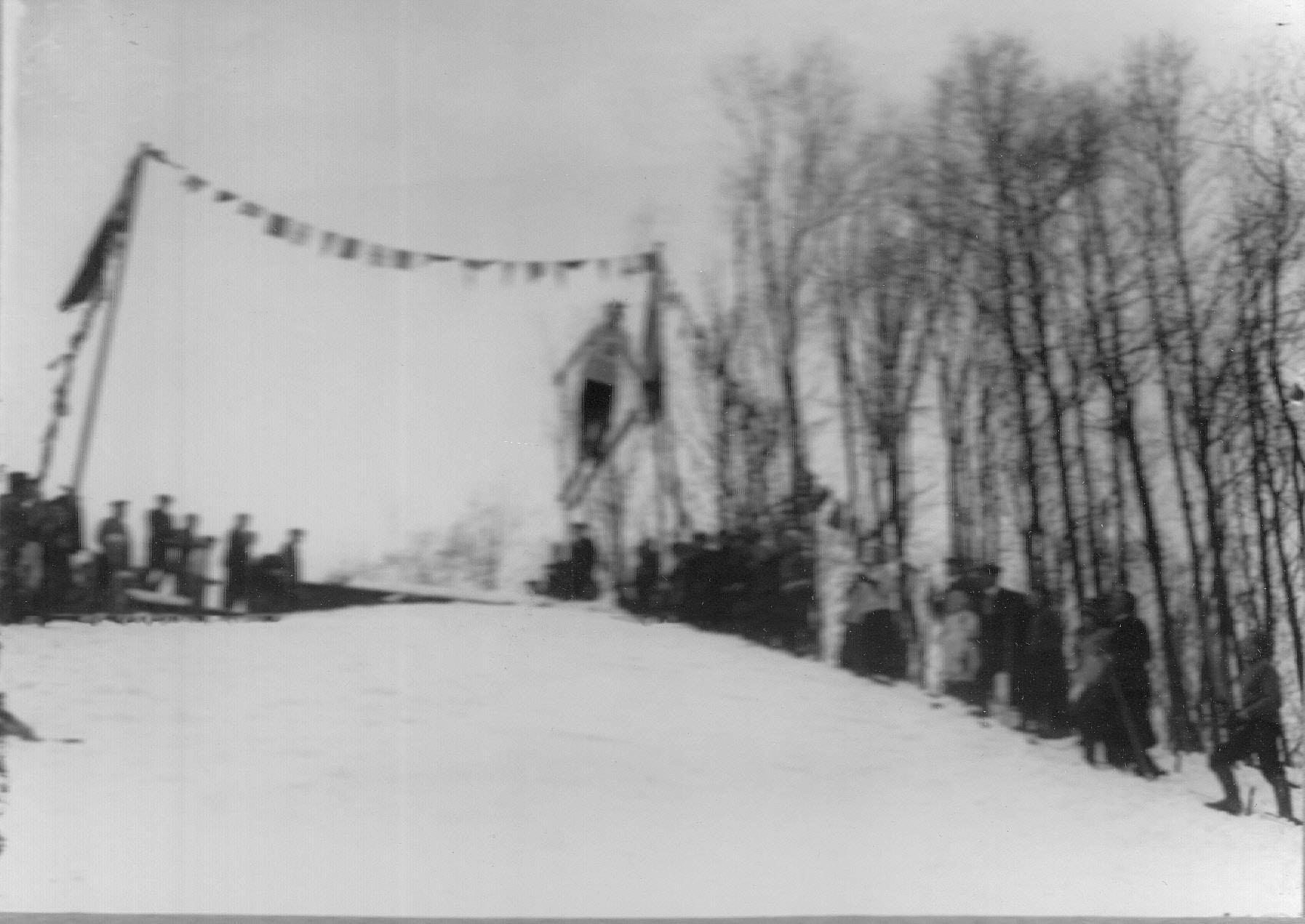 14. Соревнования лыжников