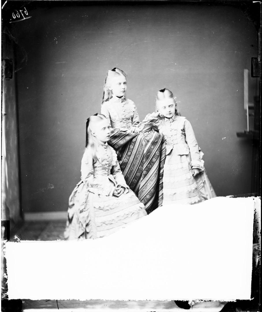 Мария Анна, Маргарет и Елизавета Саксен-Альтенбургские, 1874