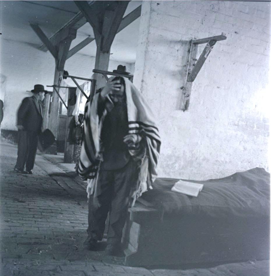 Еврей во время молитвы