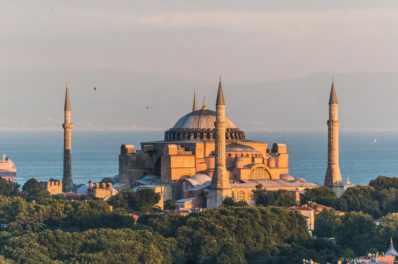 Собор Святой Софии Константинополь - Айя-Софья Стамбул