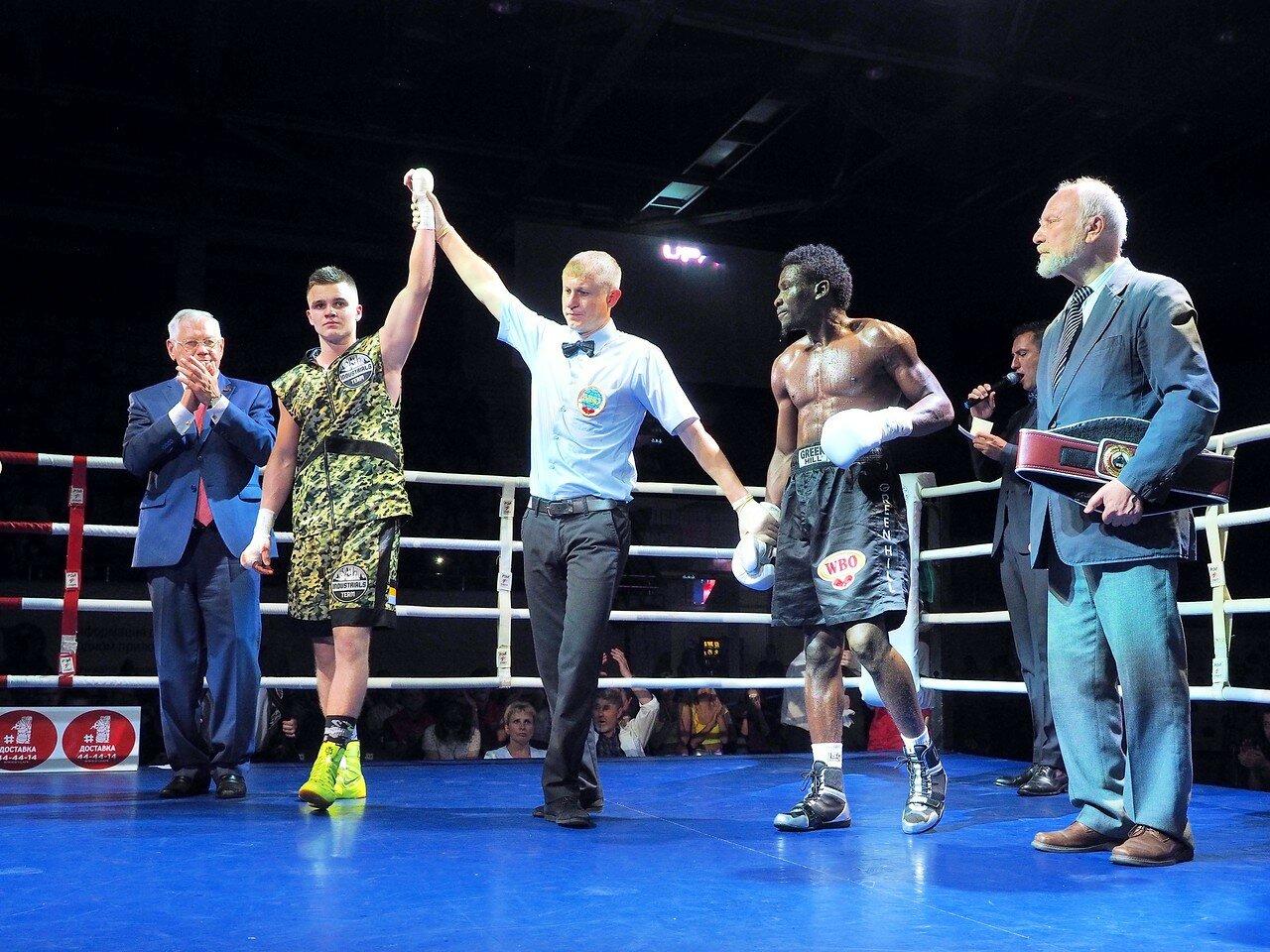 121 Вечер профессионального бокса в Магнитогорске 06.07.2017