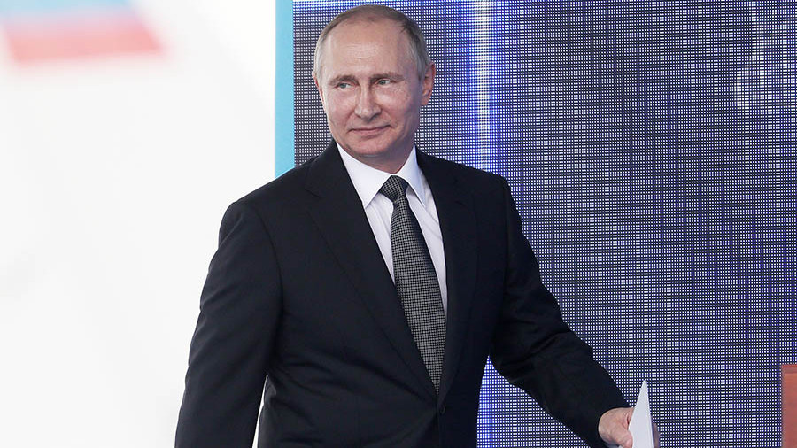 Владимир Путин прибыл с визитом в Калининградскую область