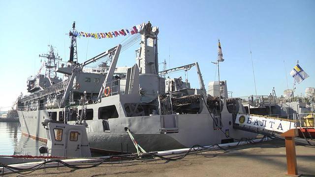 """""""Балта"""" отмечает 20-ю годовщину подъема на корабле флага ВМС Украины. ФОТОрепортаж"""