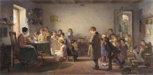 A Dame's School Thomas Webster