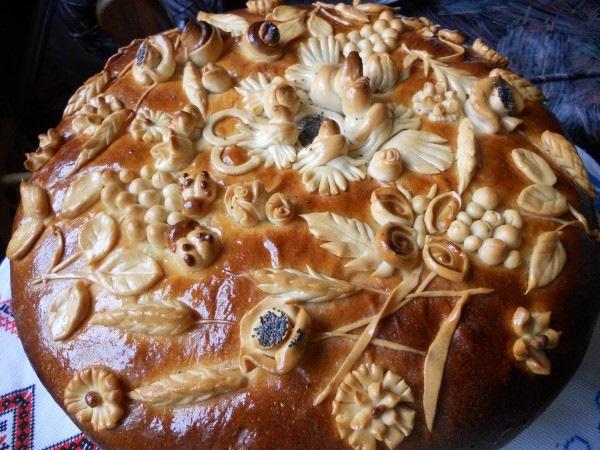 Открытки. День хлеба. Каравай - праздничная выпечка открытки фото рисунки картинки поздравления