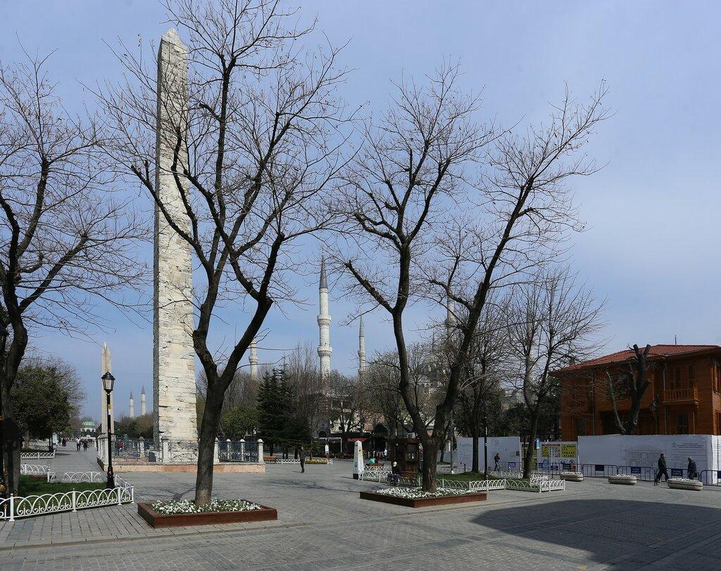 Стамбул. Площадь Ипподрома (At Meydanı)