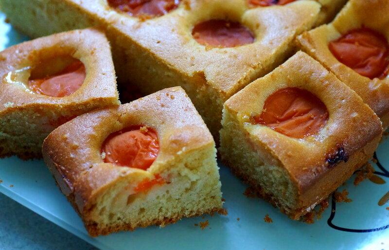Летние мини—пироги с абрикосом
