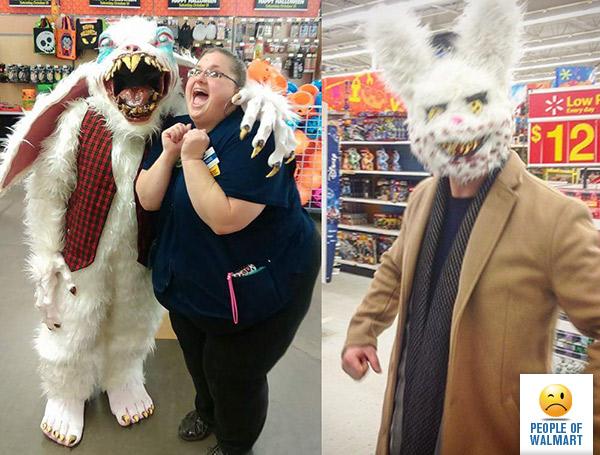 Экстравагантные покупатели Walmart (30 фото)