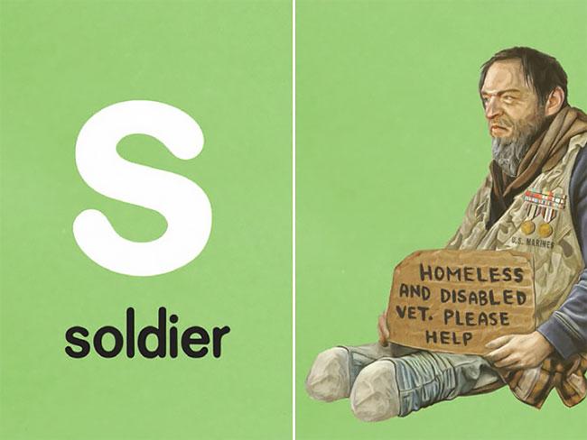 S — soldier (солдат).