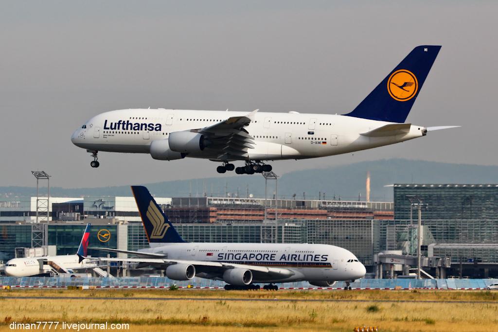 Несколько часов в аэропорту Франкфурта