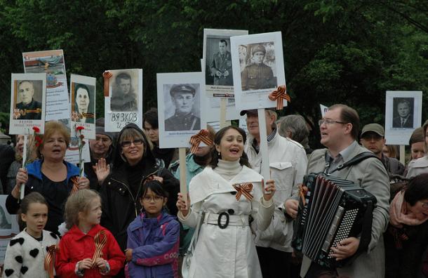 В столице России наакции «Бессмертный полк» понесут портреты убитых боевиков «Л/ДНР»