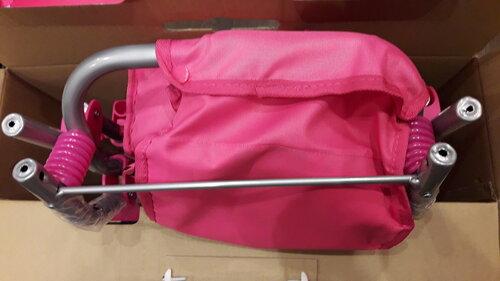 Кукольная коляска Buggy Boom Infinia 8456 с рессорами
