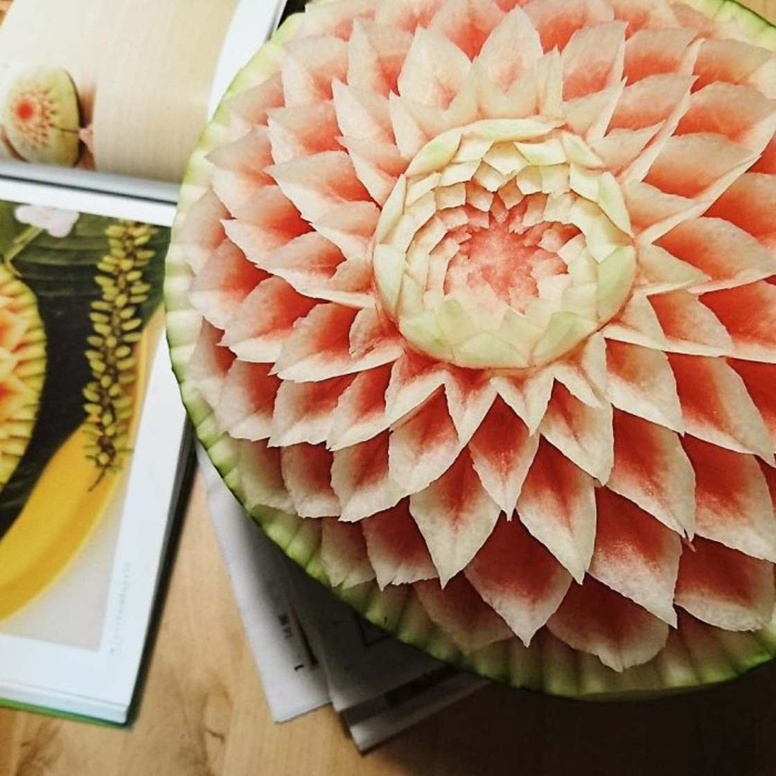 The incredible carved vegetables of a Japanese craftsman