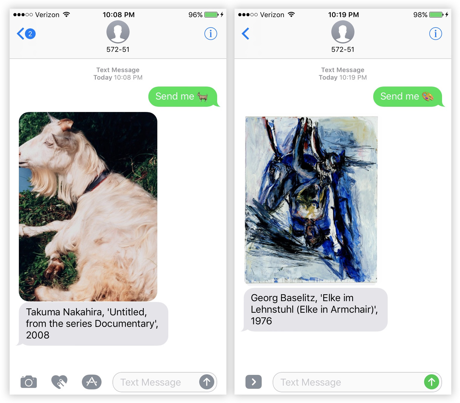 Text SFMOMA Your Favorite Emoji and Receive an Artwork From Their Vast Collection (4 pics)