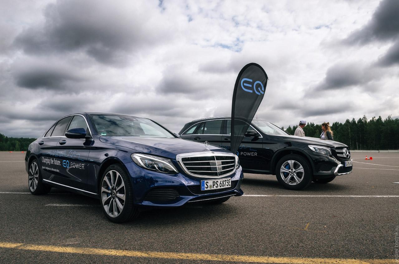 Star Experience 2017. Минск. Mercedes. Plug-in Hybrid EQ