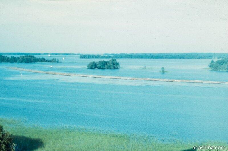 Сплав леса в Великой Губе, Онежское озеро
