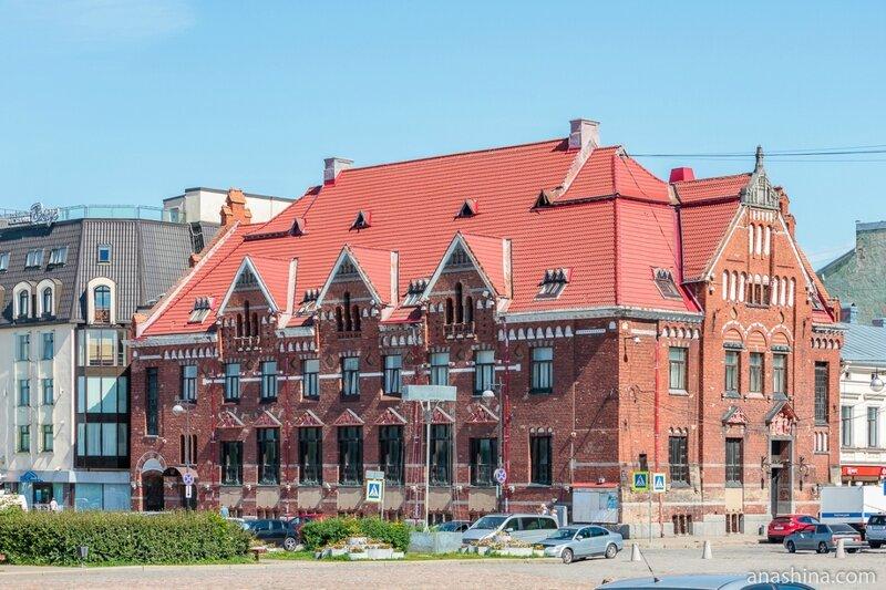 Здание бывшего Выборгского отделения Банка Финляндии (Suomen Pankki), Выборг