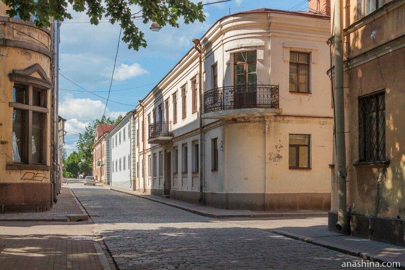 Угол Прогонной и Краснофлотской улиц, Выборг