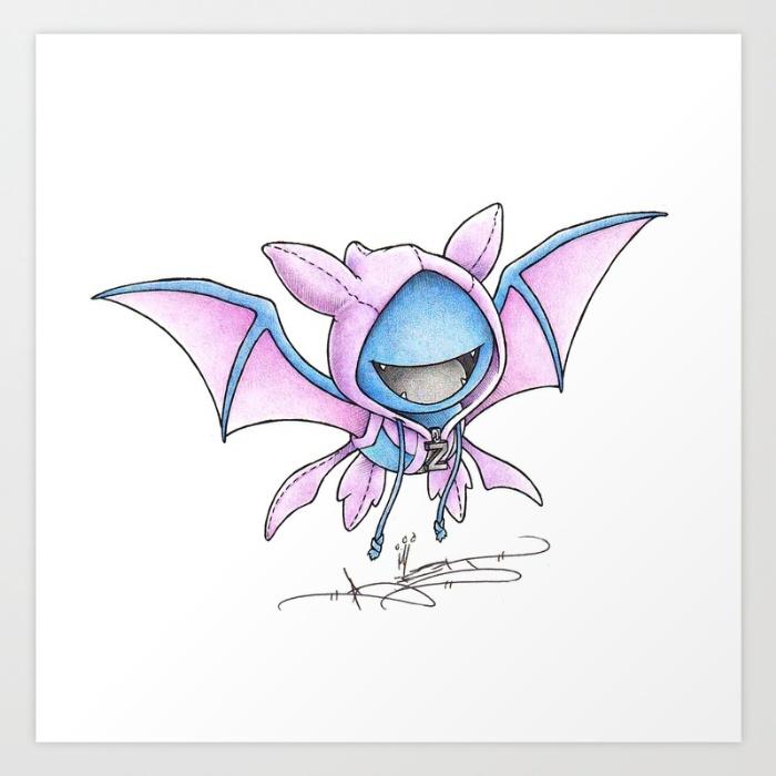Artist Randy C Illustrates Adorable Baby Pokemon Wearing Their Evolved Hoodies