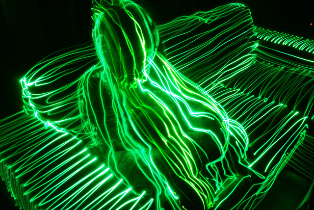 Janne Parviainen - Topographical Light Painting