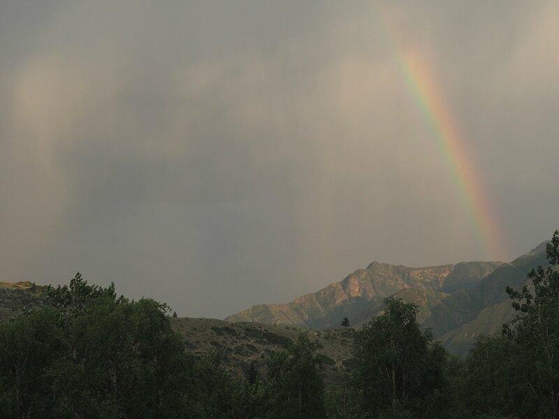 Россия, Горный Алтай - радуга (Russia, Gorny Altai - a rainbow)