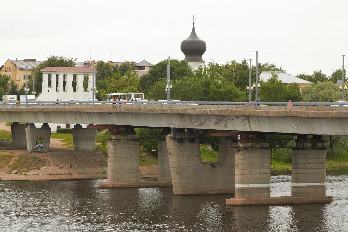Псков - вокруг кремля