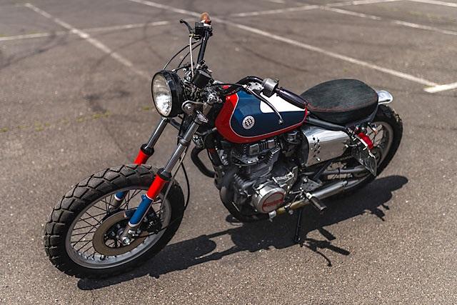 Jasin Motorcycles: кастом Honda CB250