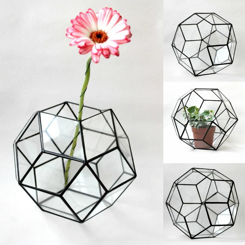 Геометрический флорариум Шар
