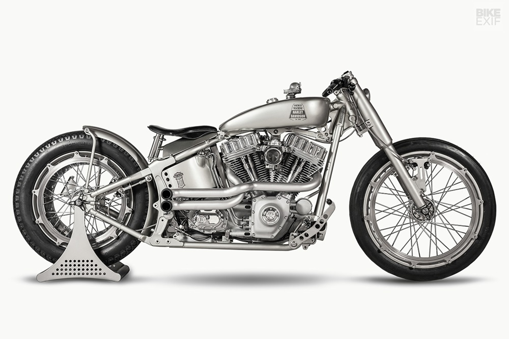 One Way Machine: кастом Iron Riot на базе Harley-Davidson Softail