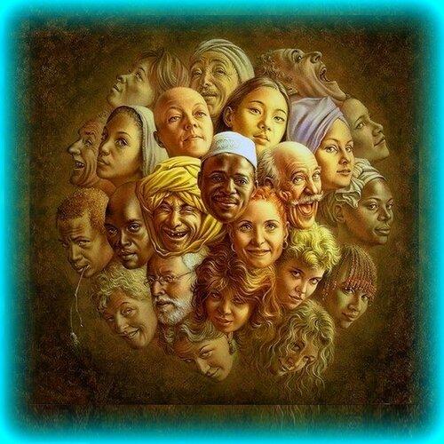 О красоте человеческих лиц... Нидерландский художник Якоб Кристиан Поэн де Вийс (Jacob Christian Poen de Wijs)Фрагмент картины  ..jpg