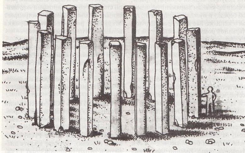 комплекс мегалитов на реке Уса