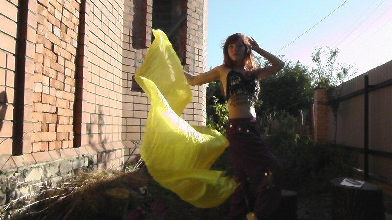 смотреть танец живота с веером