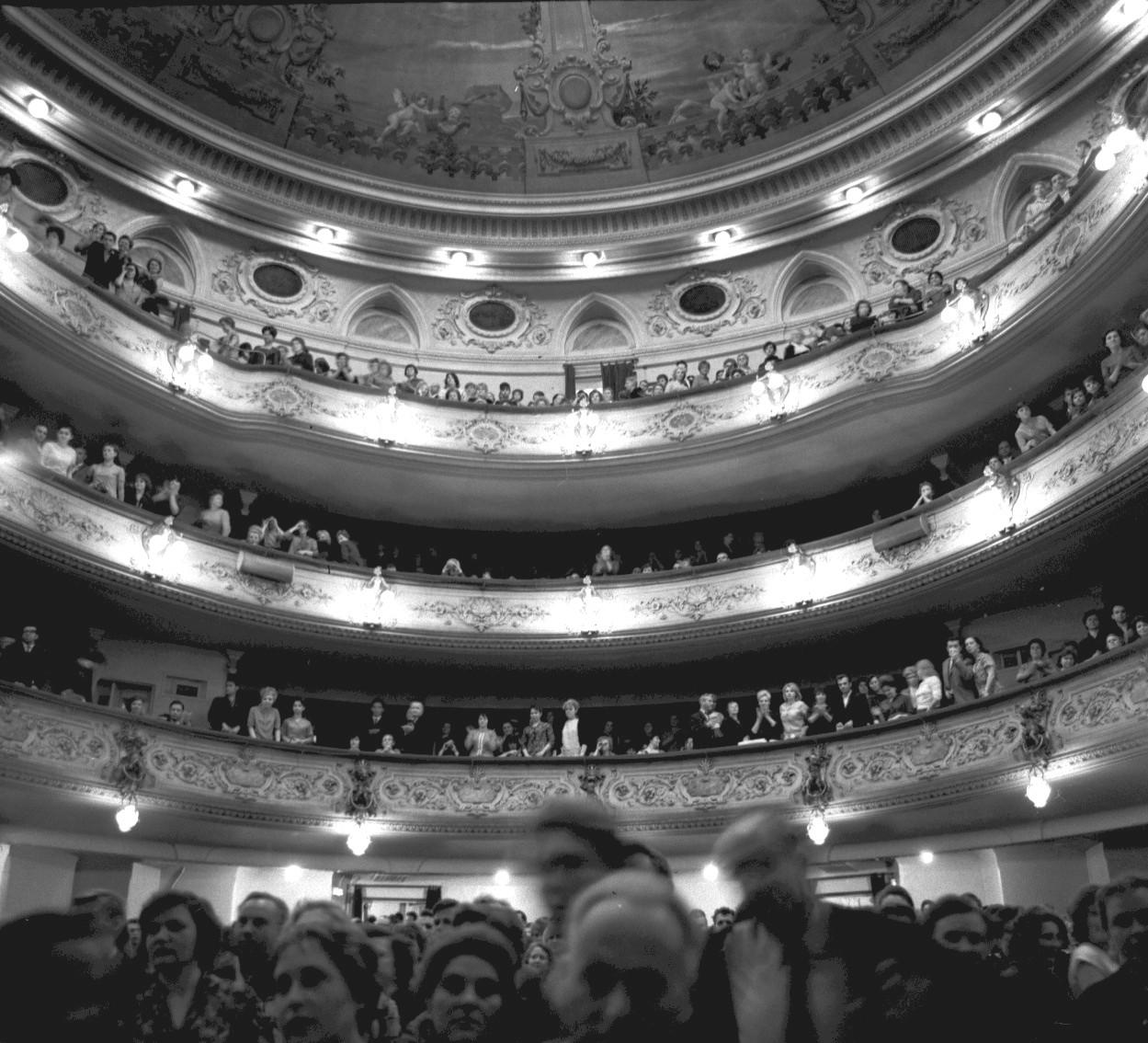 Башкирский театр оперы и балета. В зрительном зале