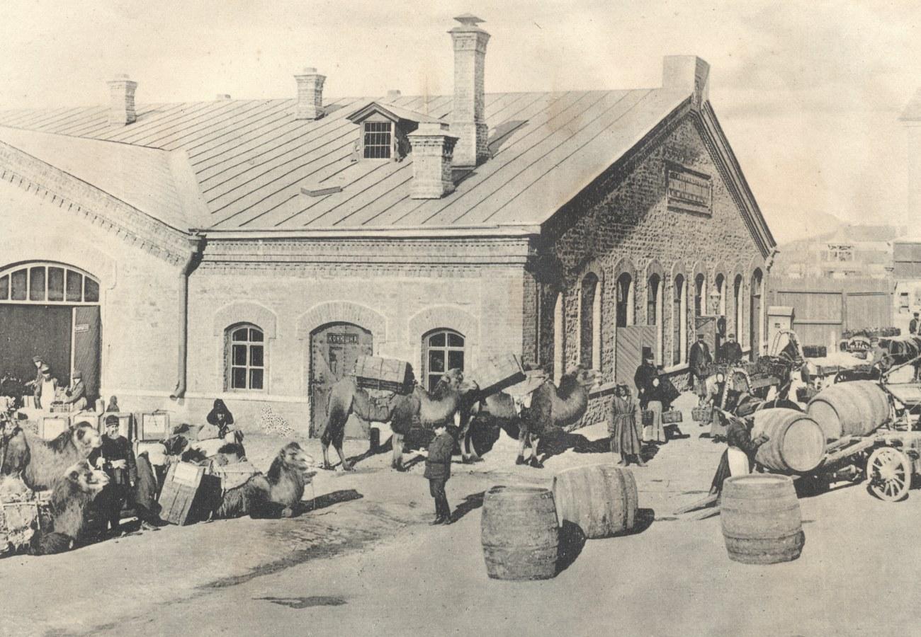 32. Склад Жигулёвского пивзавода в Оренбурге