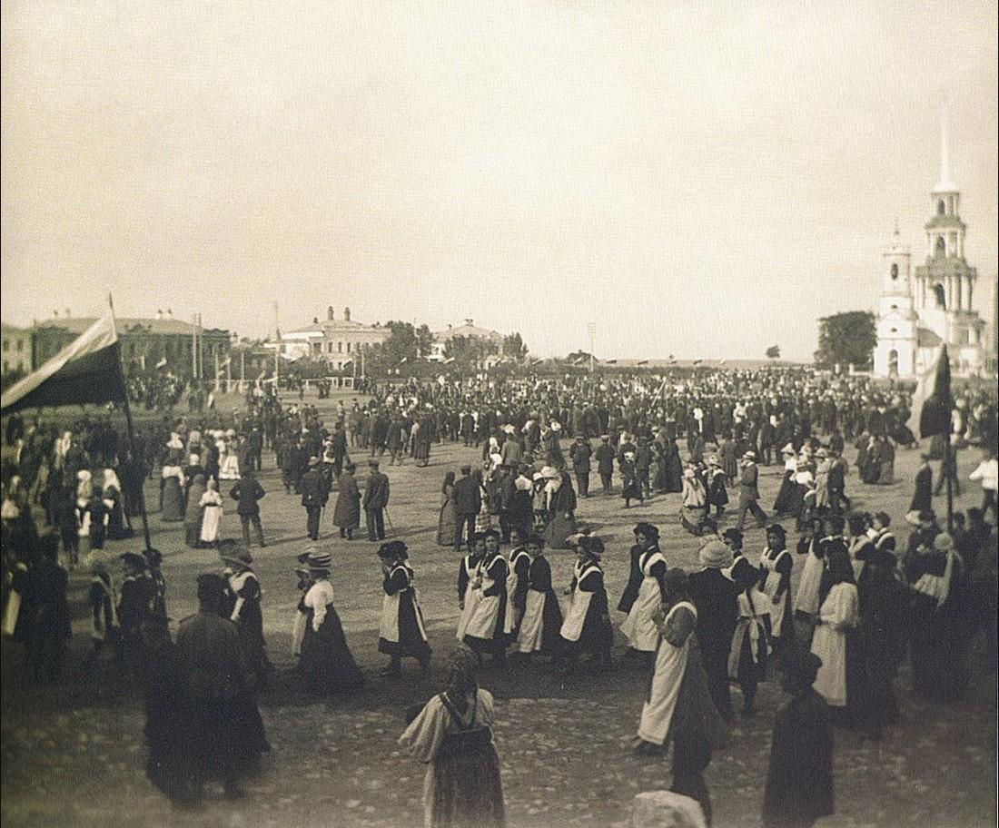 Торжества на Ильинской (Соборной) площади