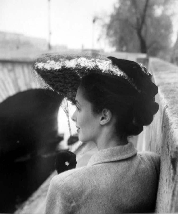 1948. Модная шляпа, модельер Каролина Ребу