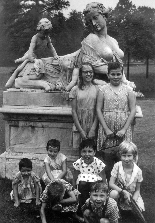 1967. Дети в Потсдаме, Германия