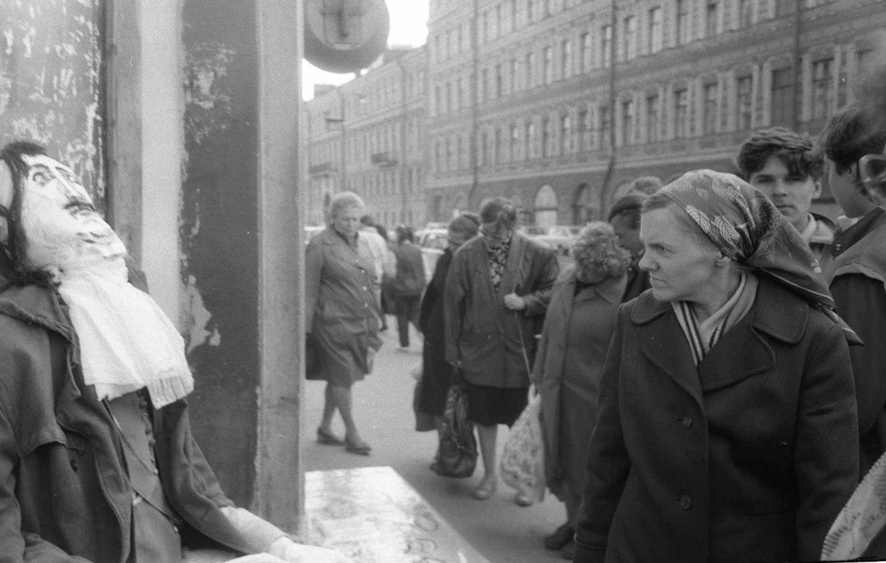 Лица советской эпохи. Часть 281. Ленинград и люди на снимках Сергея Подгоркова-6