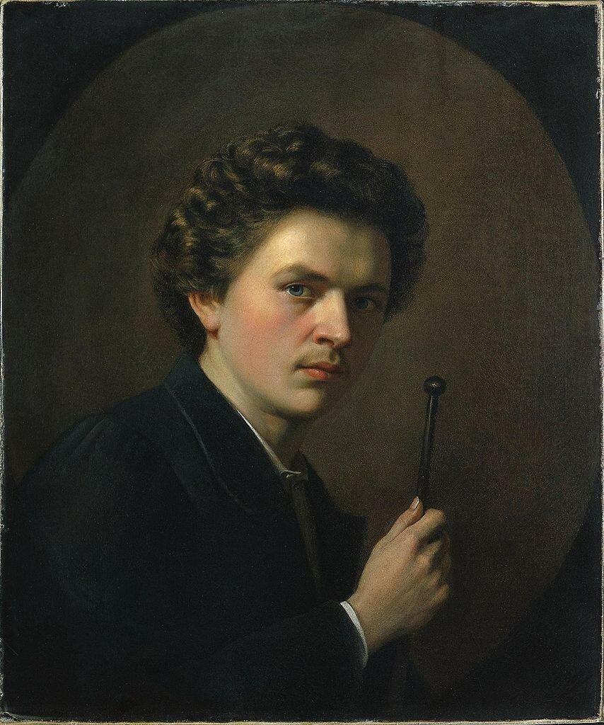 Henri_Regnault_-_Autoportrait_avec_appui-main ок. 1863.jpg