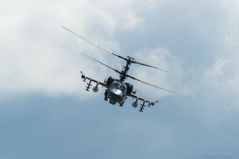 Камов Ка-52 (RF-13402 / 72 красный) ВКС России 448_D801414