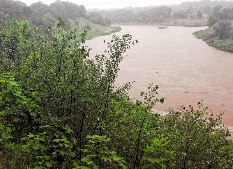 Июль 2017. Наводнение на Ловати.