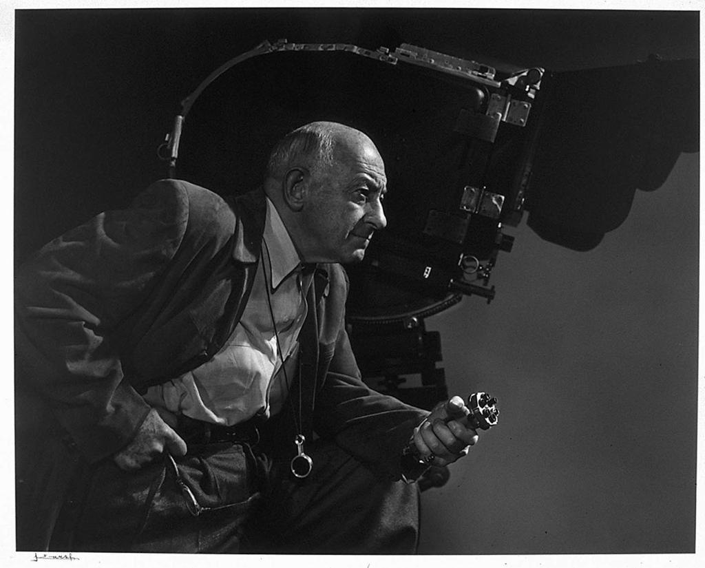 Сесил Б. Демилль1956 Юсуф Карш Канадский фотограф 1908-2002