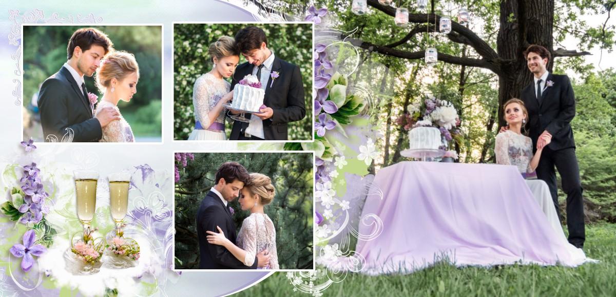 свадебная фотокнига шаблон купить