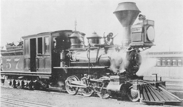 С днем железнодорожника! Модель паровоза прошлого