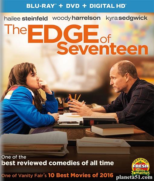 Почти семнадцать / The Edge of Seventeen (2016/BDRip/HDRip)