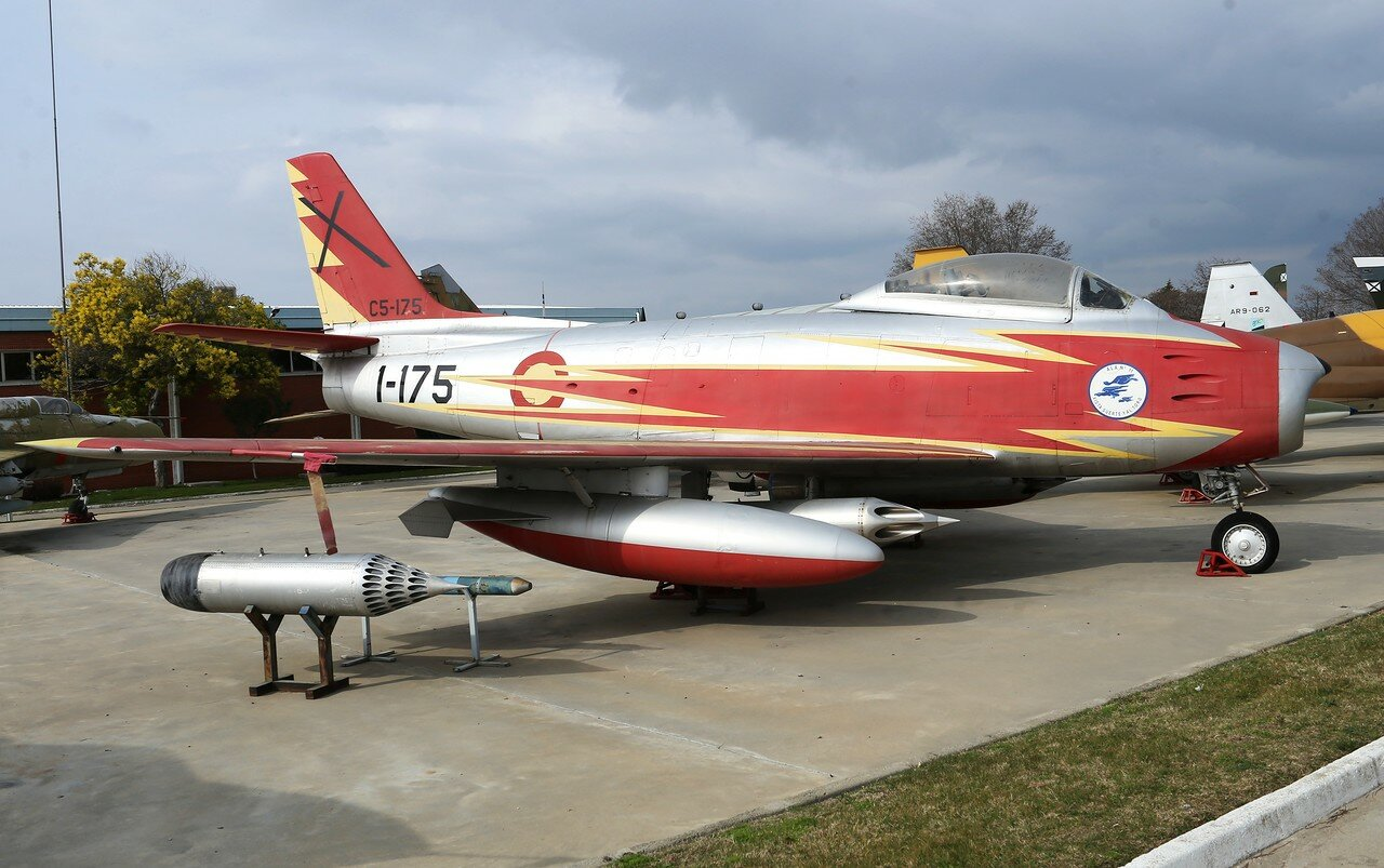 North American F-86 Sabre (Museo del Aire, Madrid)