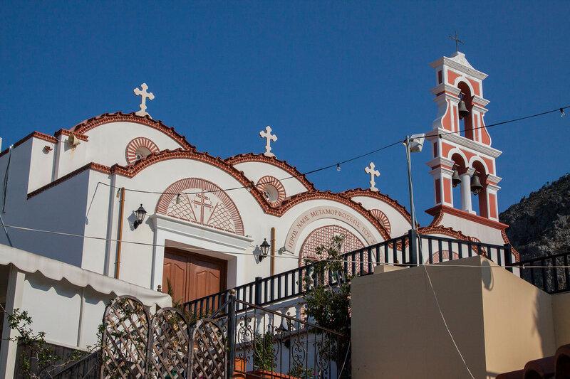 Деревня Пископиано. Греция. Крит.