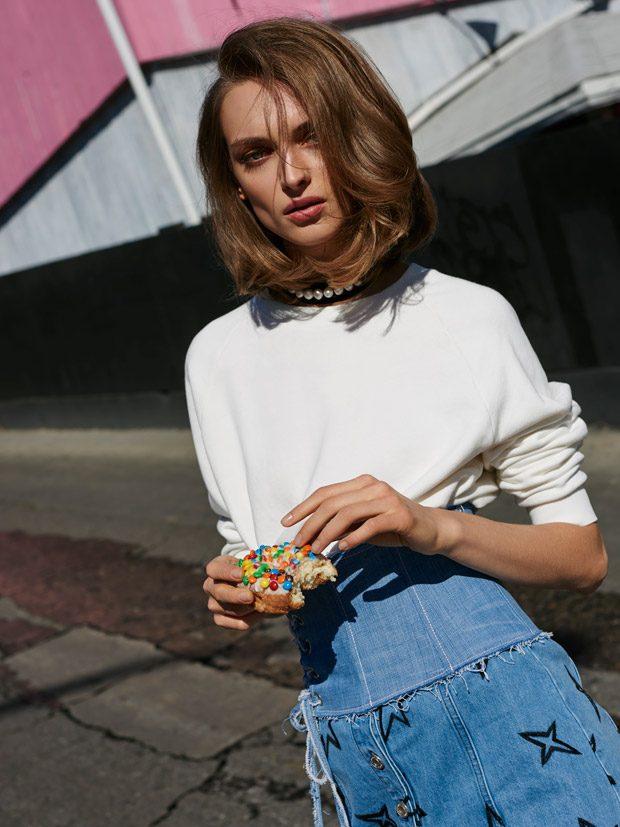 Дага Зиобер для Elle Poland