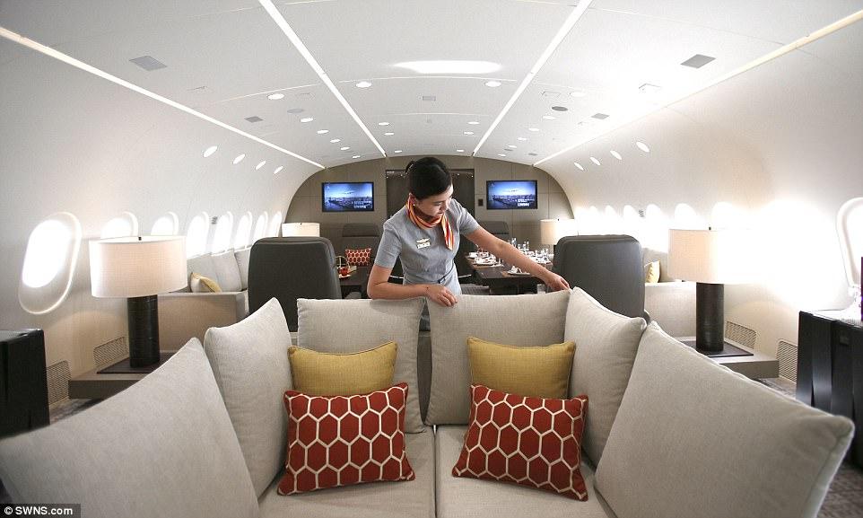 Dream Jet способен без дозаправки преодолеть расстояние в 15 тысяч километров или 17 с половиной час